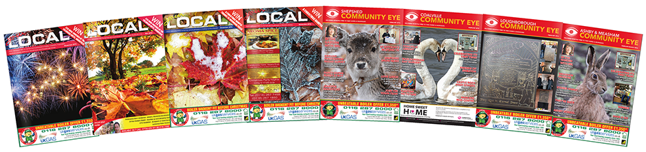 Local community eye magazines