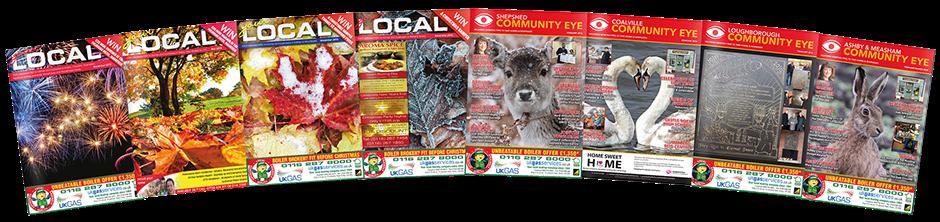 Local community eye magazines