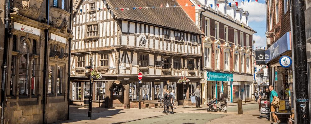 Oswestry Shops